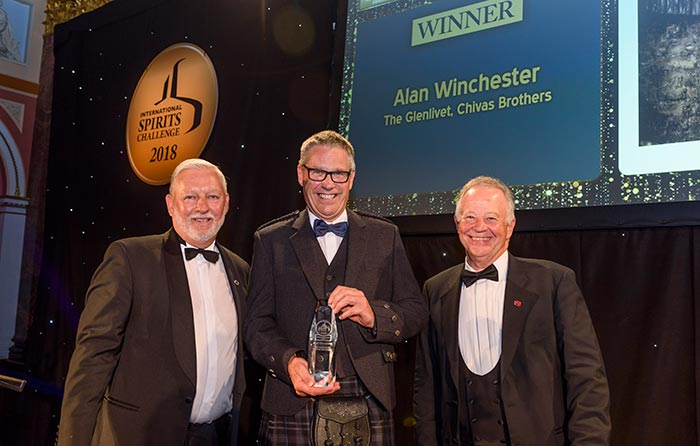 The Glenlivet Master Distiller, Alan Winchester, Honoured With Lifetime Achievement Award: 13th July, 2018