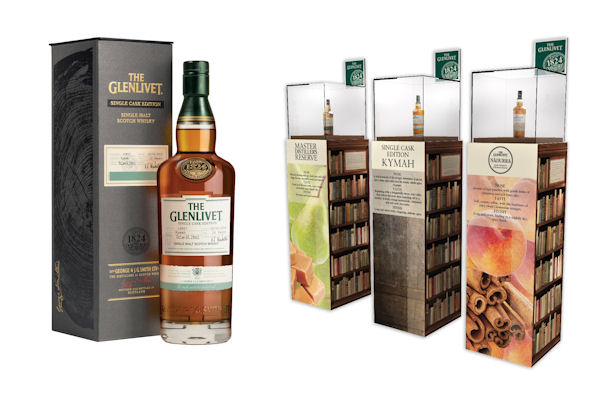 New Single Cask Edition The Glenlivet Kymah Released As Heinemann Duty Free Travel Retail Exclusive