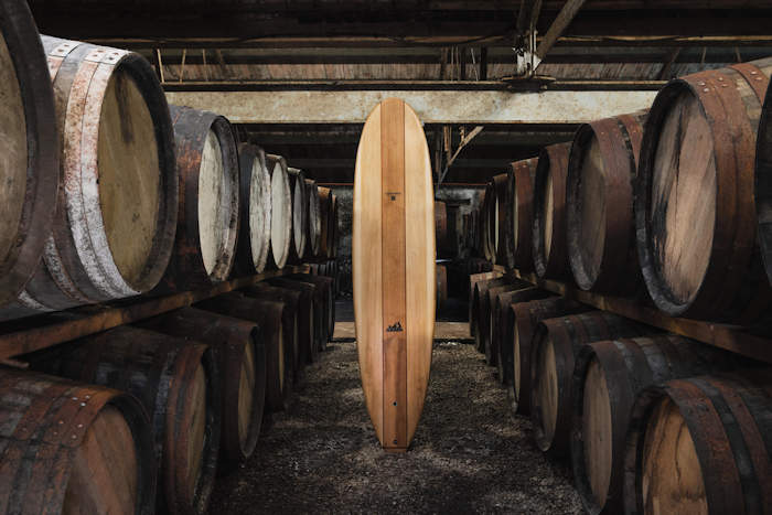 Glenmorangie takes to the waves: Whisky casks reimagined as limited edition handmade wooden surfboards