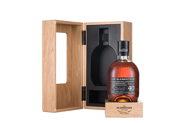 The Glenrothes Unveils An Unrepeatable Treasure Of The Past With The Release Of Its First-Ever 40-Year Old Single Malt