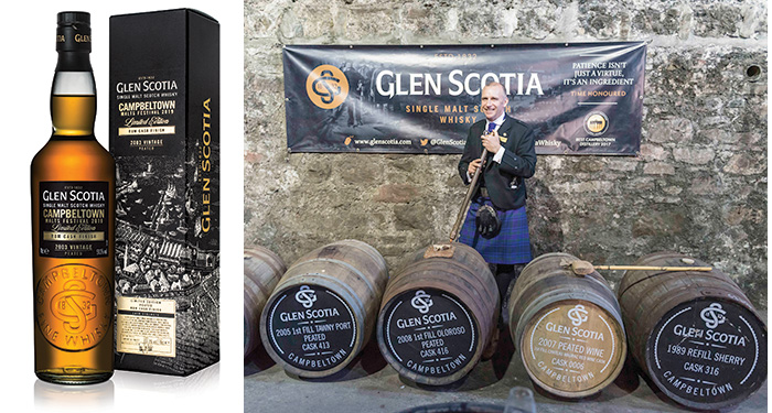 Glen Scotia Rum Cask Finish 2003