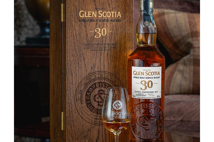 Glen Scotia unveils rare 30 Year Old Single Malt. Only 500 limited edition bottles available worldwide