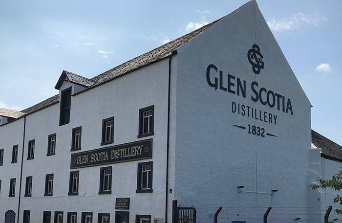 Planet Whiskies tour of the Glen Scotia Distillery