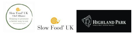 Slow Food UK Chef Alliance and Highland Park Logo