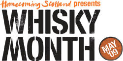 Homecoming Scotland presents Whisky Month - May 2009