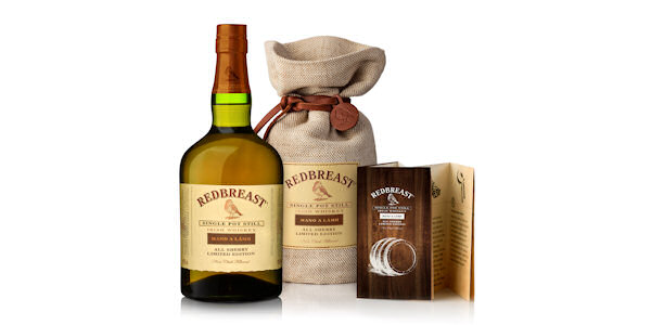 Irish Distillers :: Midleton Distillery :: Pernod Ricard :: Redbreast Unveils Its First All Sherry Matured Whiskey :: 3rd February, 2015