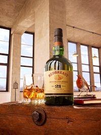 The Definitive Single Pot Still Irish Whiskey Unveiled As Irish Distillers Launches Redbreast 21 - 27th September, 2013