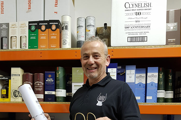Isle of Lewis whisky shop raises spirits with delivery service thanks to Business Gateway support