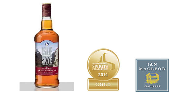 Skye's The Limit For Ian Macleod Distillers At The International Spirits Challenge - Isle of Skye 8 Year Old