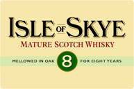 Isle of Skye logo - Mature Scotch WHisky - 8 Year Old