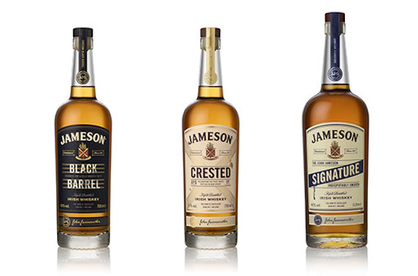 Jameson :: The range of Heritage whiskeys
