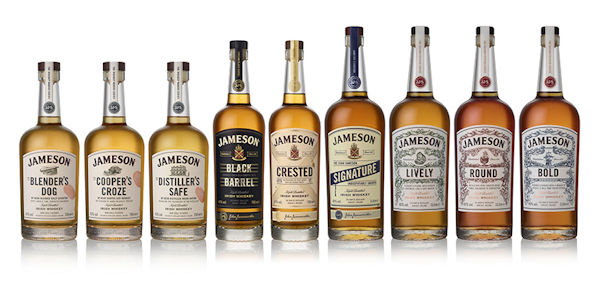 Jameson Restructures Its Portfolio With New Family Of Irish Whiskeys :: 2nd June, 2016