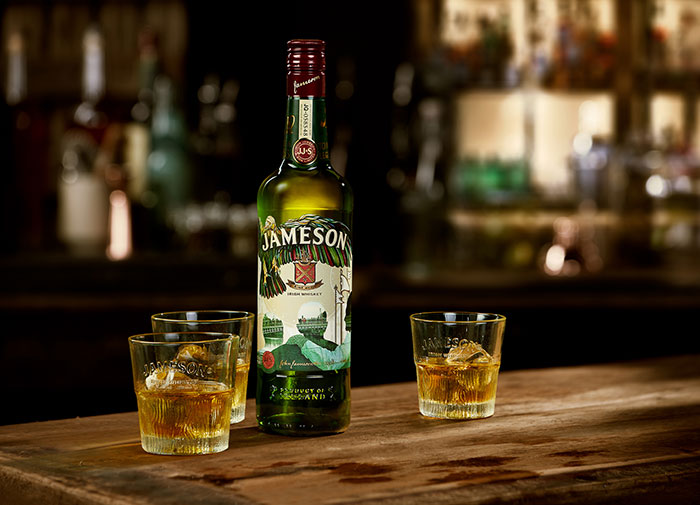 Trio Of Designers Bring Spirit Of Collaboration To Jameson's Annual St. Patrick's Day Bottle: 1st February, 2018