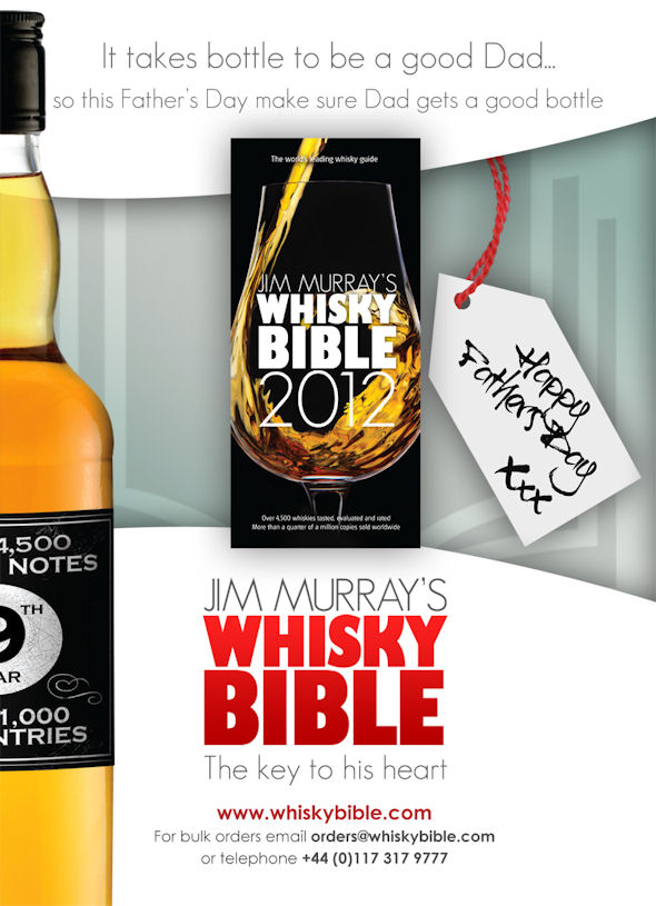 Jim Murray's Whisky Bible 2012 - Stock up for Father's Day - 21st May, 2012