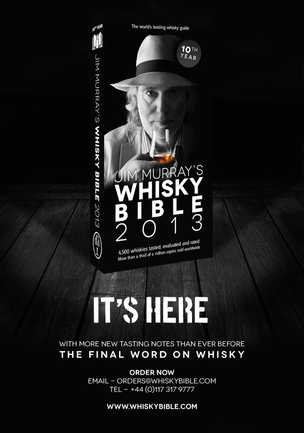 Jim Murray Whisky Bible on sale now