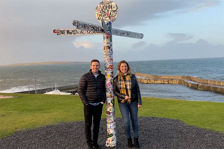 Local husband and wife team Kerry and Derek Campbell set to open John O'Groats whisky distillery in the summer of 2021