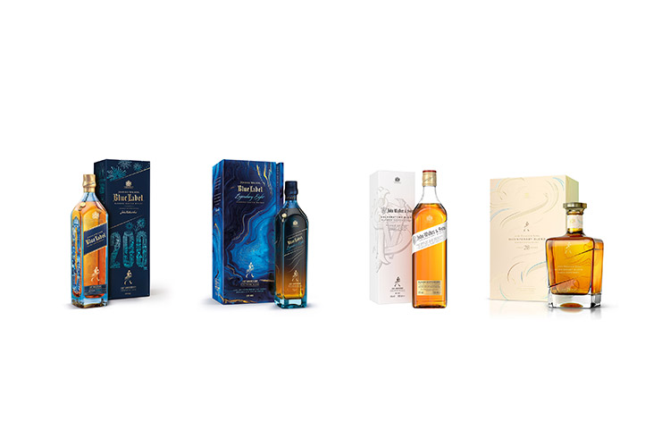 Johnnie Walker celebrates 200th anniversary with four exclusive releases including a new bottle design and three newly crafted whiskies.