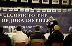 Welcome to the Jura Distillery Photo