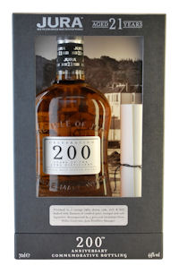 Jura toasts 200th celebrations with a dram of newly releases 21 YO - 27th October, 2010