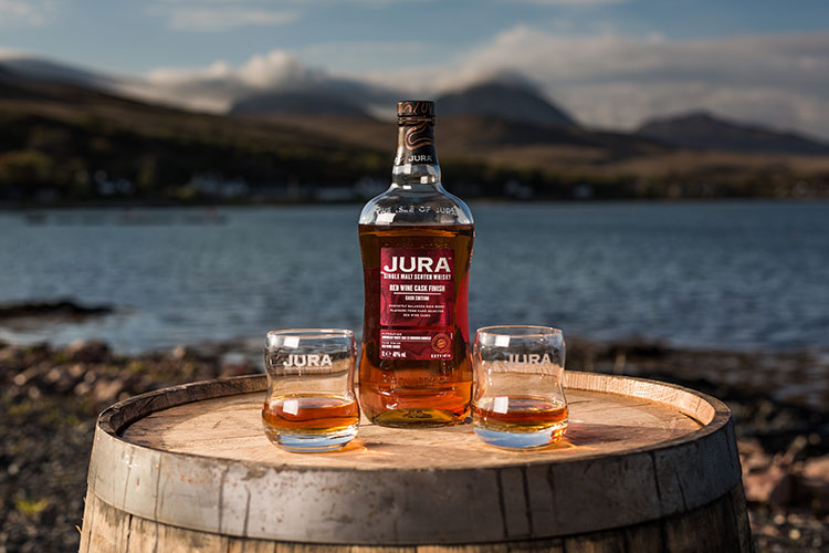 Jura Whisky releases the new Jura Red Wine Cask Finish