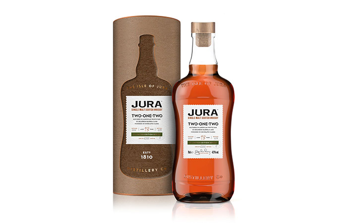 Isle of Jura launches limited edition: Jura Two-One-Two; a community spirit