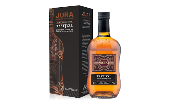 Jura Whisky :: Tastival 2016 Bottling Brings Festival Flavours to Life :: Limited edition Tastival 2016 bottling inspires unique packaging, chosen by Jura fans :: 26th May, 2016