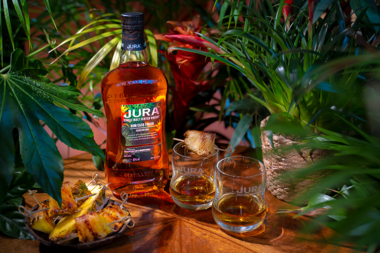 Jura Whisky brings the tropical to its island home with new Rum Cask Finish. Exotic single malt added to its portfolio