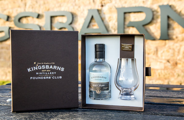 """From Dream To Dram"" :: Kingsbarns Distillery Announces Founders' Club Instalment Plan :: 16th August, 2016"
