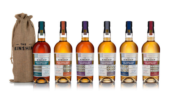 The Kinship Full Whisky Range