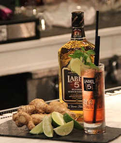Label 5 - The 5 Senses Cocktail : A Sure Standout At Any Occasions