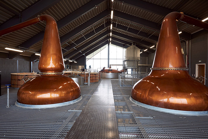 Lagg Distillery Stills