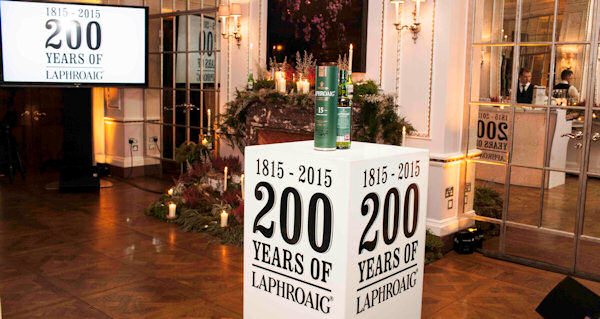 Laphroaig celebrating 200 Years :: 1815-2015