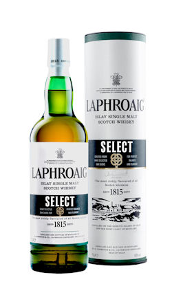 Laphroaig Select bottle