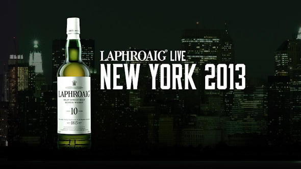 Laphroaig Live 2013- Laphroaig, the Whisky That Never Sleeps - Live on 26/27th September, 2013