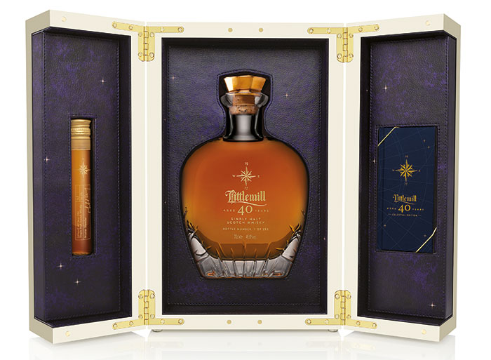 Stars align for launch of Littlemill 40 Year Old Celestial Edition