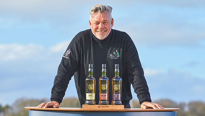 Open Champion Clarke Joins Loch Lomond Whiskies