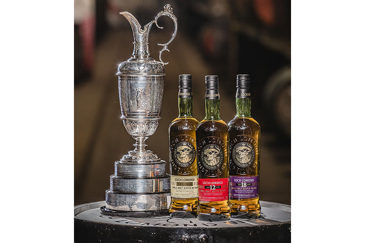 Loch Lomond Whiskies sign partnership with the Professional Golfers' Association