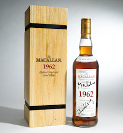 The Macallan Set To Auction 1962 Bottle For Skyfall Charity - 25th March, 2013