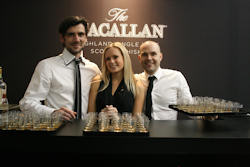 The Macallan at the London Art Fair with 20,000 samples