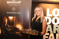 The Macallan continued its successful sampling programme at The London Art Fair (January 2013)