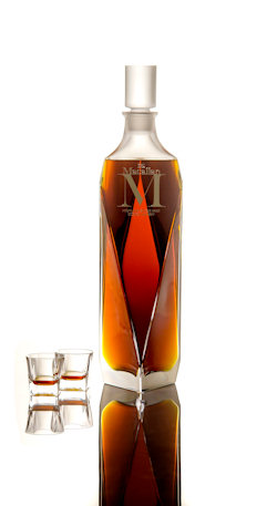 "The Macallan to auction six litre ""Imperiale"" decanter of Macallan 'M' - 9th January, 2014"