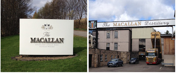 Planet Whiskies tour around The Macallan Distillery