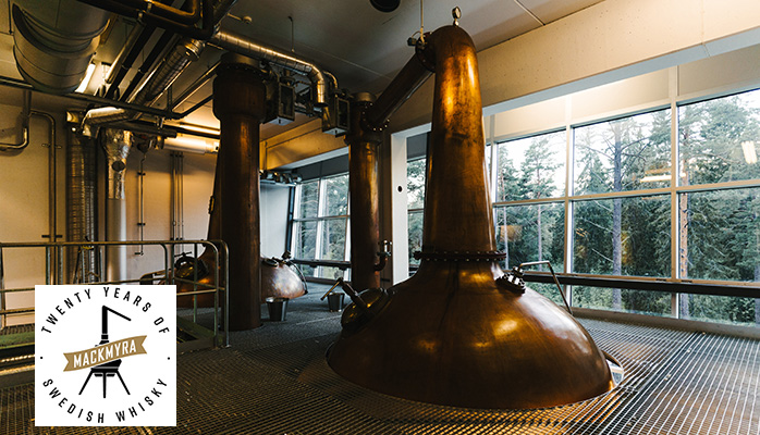 Mackmyra Svensk Whisky turns 20, Sweden's first ever single malt whisky distillery