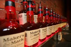 Bottles of Maker's Mark