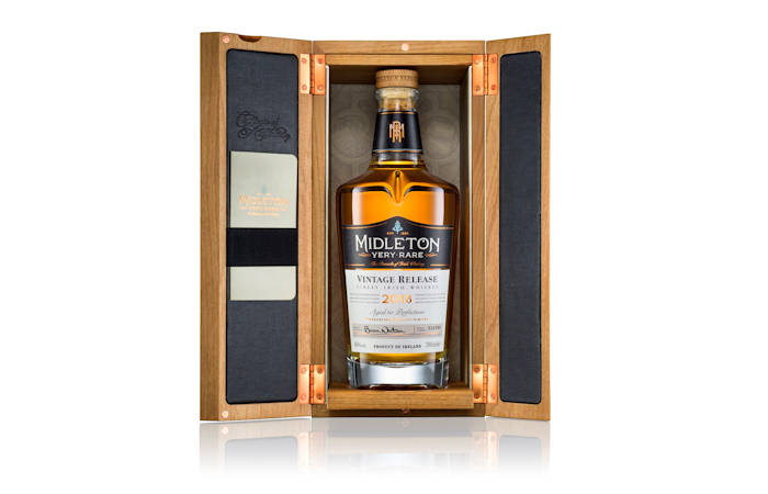 The Midleton very rare legacy continues with 2018 edition. Irish Distillers has unveiled the 2018 vintage of Midleton Very Rare