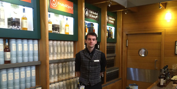 Sam: Oban Distillery Tour Guide