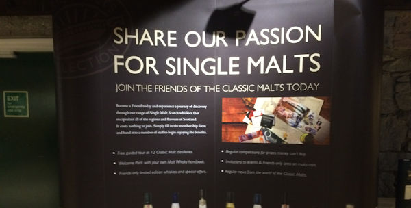 Share our passion for Single Malts