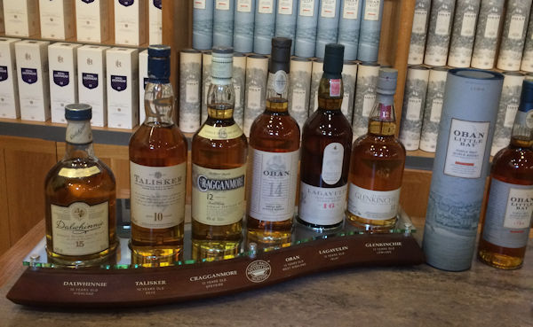 Six Classic Malts of Scotland