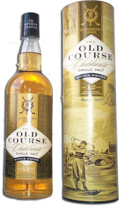 Old Course Single Malt Scottish Whisky
