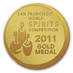 Gold medal at the San Francisco World Spirit Competition